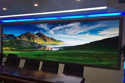 Chipsonboard Encapsulation On Small Pixel Pitch LED Display Screen
